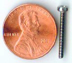M2x18mm SS Pan Head Machine Screw #20800