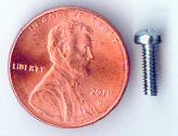 M2.5x8mm Zinc Pan Head Machine Screw #10063