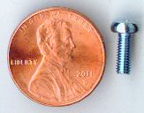 M3x8mm Zinc Pan Head Machine Screw #10097