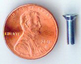 M3x10mm Zinc Flat Head Machine Screw #10103
