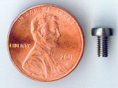 M3x5mm SS Pan Head Machine Screw #10105