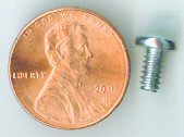 6-32x1/4 Zinc Pan Head Machine Screw #10114