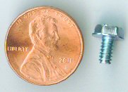 6-32x1/4 SS Hex Head Machine Screw #10115