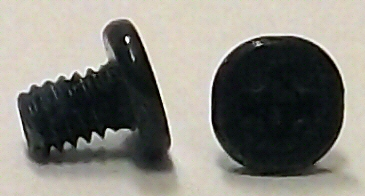 M2x3mm Black Oxide Wafer Head Machine Screw w/Nylok #10120