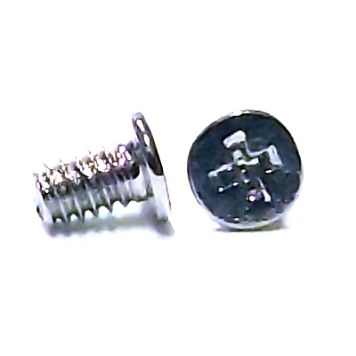 M1.7 x 4mm Nickel Wafer Head Machine Screw #21555