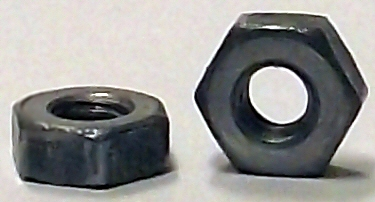 M2.5-0.45 DIN 934 Plain Steel Hex Nut 10195