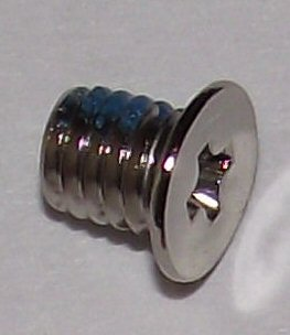 M3x4mm Nickel Wafer Head Machine Screw #20921