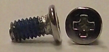 M2.5x5mm Nickel Wafer Head Machine Screw #10234
