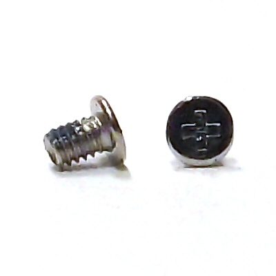 M2.5x4mm Wafer Head Machine Screw w/Nylok #10149