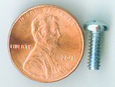 "6-32 x 3/8"" Zinc Pan Head Machine Screw #10325"