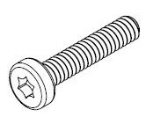 M1.2-0.25 x 7mm SS Torx Pan Head Screw