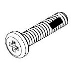 M1.4-0.30 x 7.0mm SS Pan Head Screw 10421