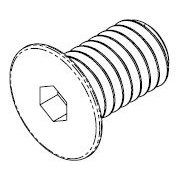 M3-0.50 x 5.00mm Zinc Wafer Head Screw #10461 - Click Image to Close
