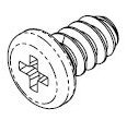 M1.2-0.45 x 2mm 304 SS PTF Pan Head Screw 10486 - Click Image to Close