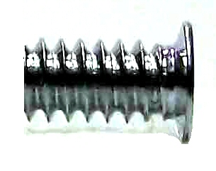 6-32 x 1/4 Black Zinc 120 Degree Flat Head Screw #30249