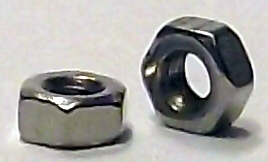 M1.7 Nickel Hex Nut 20621