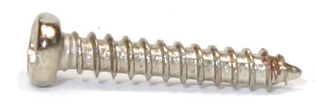M2x12 Nickel Micro Type A Self Tapping Pan Head Screw #20645