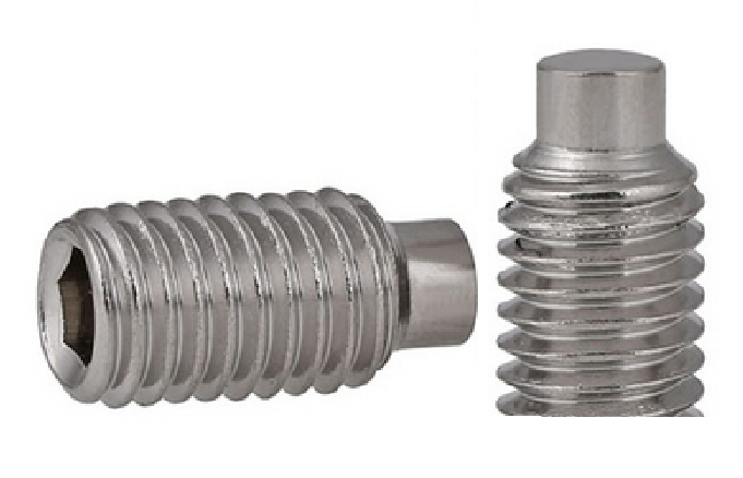 M3x8 304 Stainless Steel DIN 915 Dog Point Set Screw #21830