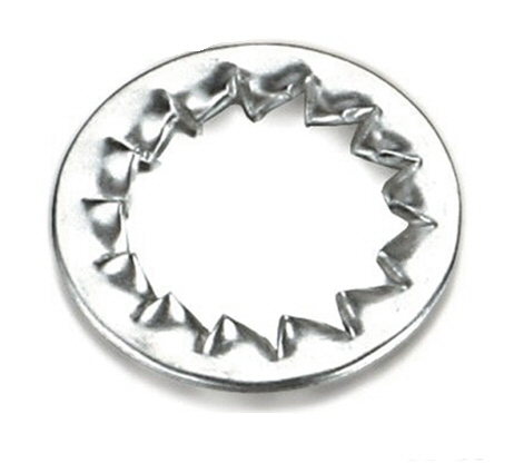 M3 Black Zinc Internal Serrated Tooth Washer #21212