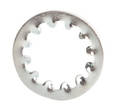 M2.5 DIN 6797J Stainless Steel Internal Tooth Washer #20703
