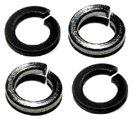 M2 Nickel Spring Lock Washer #21182
