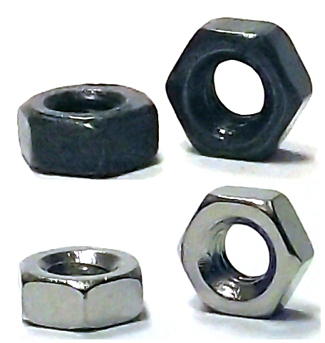M1 Nickel Hex Nut #21176