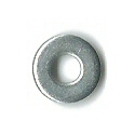 M1.4 Black Zinc Flat Washer #20983
